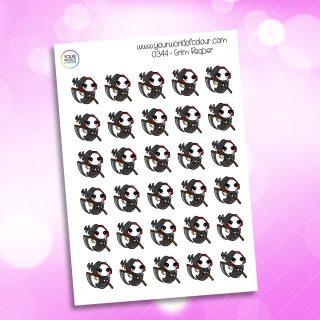 Grim Reaper Character Sticker