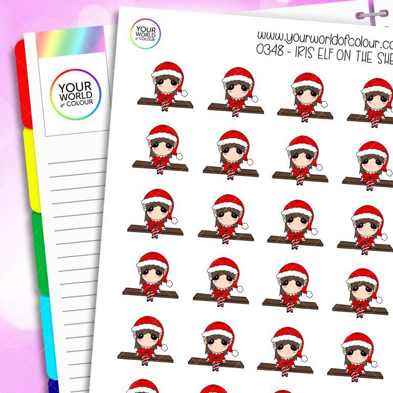 Elf On The Shelf Iris Character Stickers