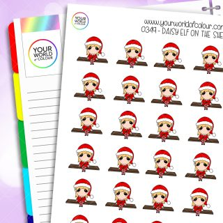 Elf On The Shelf Daisy Character Stickers