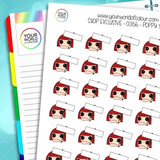 Sign Character Planner Stickers
