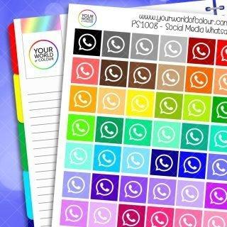 Whatsapp Planner Stickers