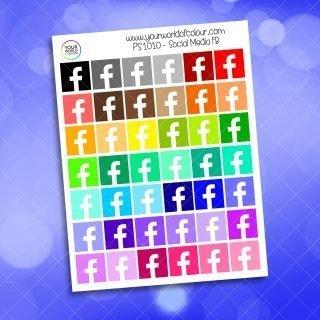 FB Social Media Planner Sticker