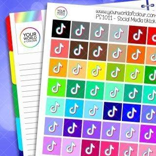 Tiktok Planner Stickers