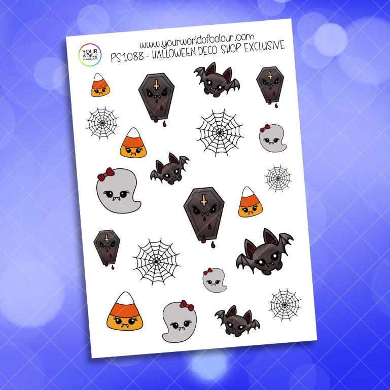 Halloween Deco Planner Sticker