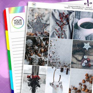 Festive Winter Weekly Kit