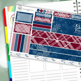 Joy And Peace Passion Planner Daily Sticker Kit
