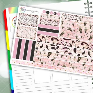 If The Crown Fits Passion Planner Daily Sticker Kit
