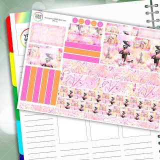 Paris Fashion Passion Planner Daily Sticker Kit