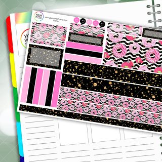 Donut Care Passion Planner Daily Sticker Kit