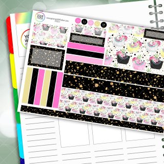 Handbags Gladrags Passion Planner Daily Sticker Kit