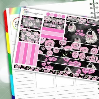 Love Ewe Passion Planner Daily Sticker Kit