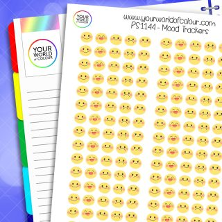 Mood Trackers Planner Stickers