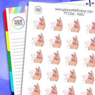 Nails Planner Stickers