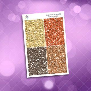 Hint Of Yellow Weekly Kit Glitter Headers