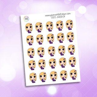 O.K. Daisy Character Sticker