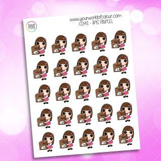 Parcel Iris Character Sticker