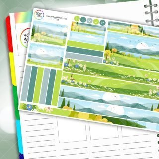 Spring Valley Passion Planner Daily Sticker Kit