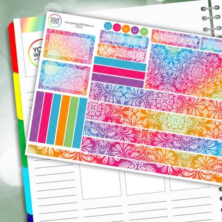 Colour Pop Passion Planner Daily Sticker Kit
