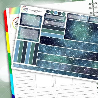 Star Times Passion Planner Daily Sticker Kit