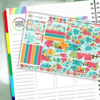 Hawaii Passion Planner Daily Sticker Kit