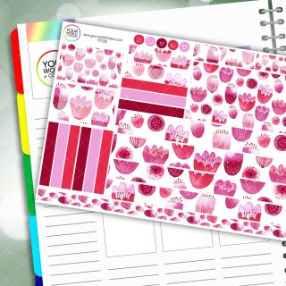 Passion Flower Passion Planner Daily Sticker Kit