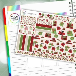 Gifts Passion Planner Daily Sticker Kit