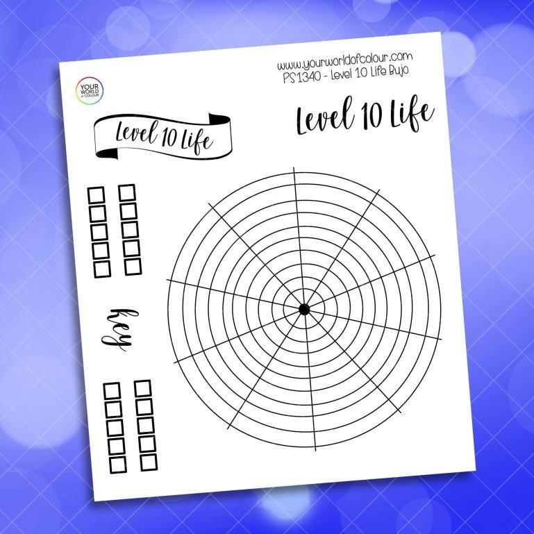 15 Min Power Clean Tracker Planner Sticker