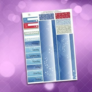 Christmas Sea Washi and Date Cover Stickers