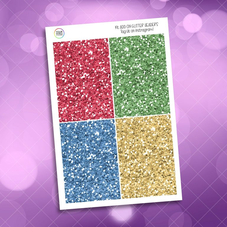 School Of Magic Houses Glitter Headers Add On