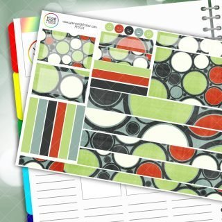 Circles Passion Planner Daily Sticker Kit
