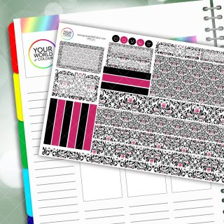 Fame Passion Planner Daily Sticker Kit