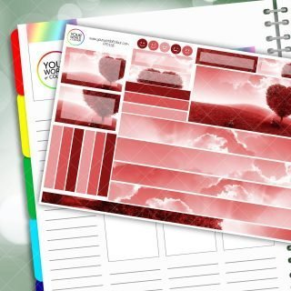 Love Passion Planner Daily Sticker Kit