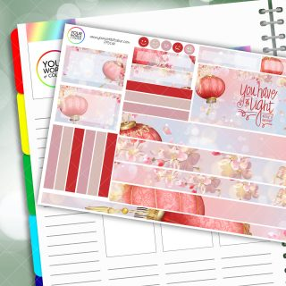 Light Passion Planner Daily Sticker Kit