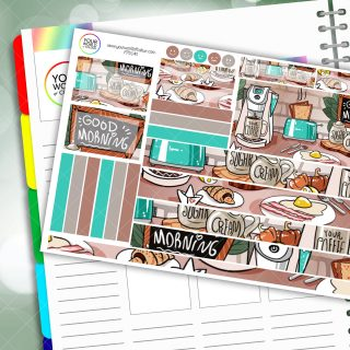 Morning Passion Planner Daily Sticker Kit