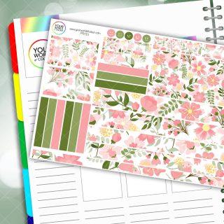 Spring Garden Passion Planner Daily Sticker Kit