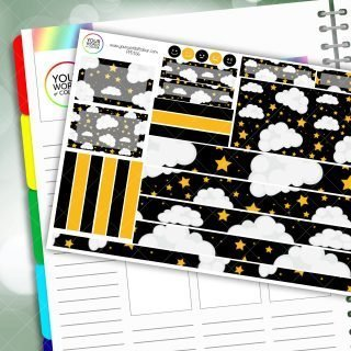 Star Bright Passion Planner Daily Sticker Kit