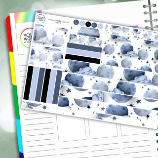 Beyond the Moon Passion Planner Daily Sticker Kit
