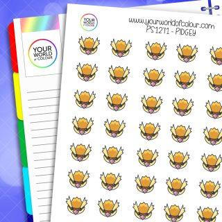 Pidgey Planner Stickers