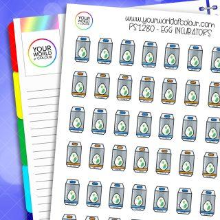 Pokemon Egg Incubators Planner Stickers