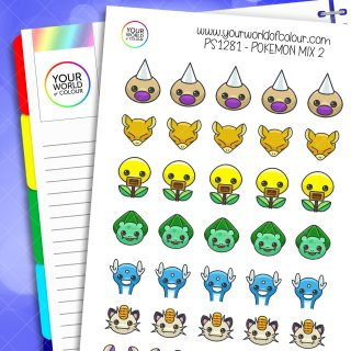 Pokemon Mix Planner Sticker 2