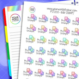 Buy Stamps Planner Stickers