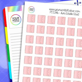 Aura Estelle Cloud Planner Stickers
