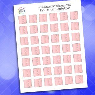 Aura Estelle Cloud Planner Sticker