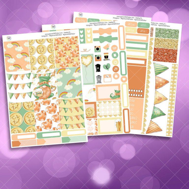 Gnome Weekly Kit 4 Sheet Kit