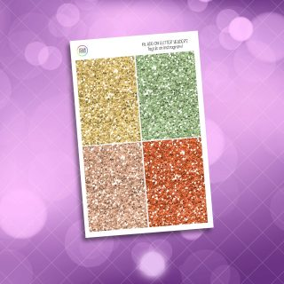 Gnome Glitter Headers