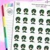 Dino Iris Character Stickers