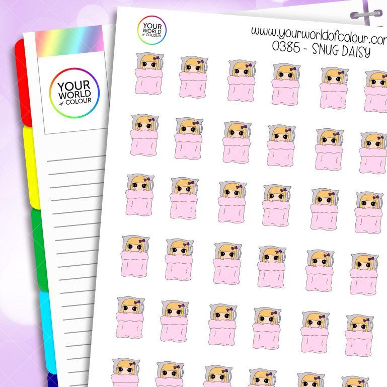Snug Daisy Character Stickers