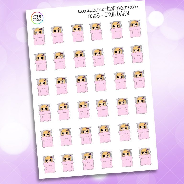 Snug Daisy Character Sticker