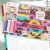 Donut Sprinkles Passion Planner Daily Sticker Kit