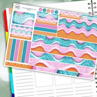 Glitz Ice-cream Passion Planner Daily Sticker Kit